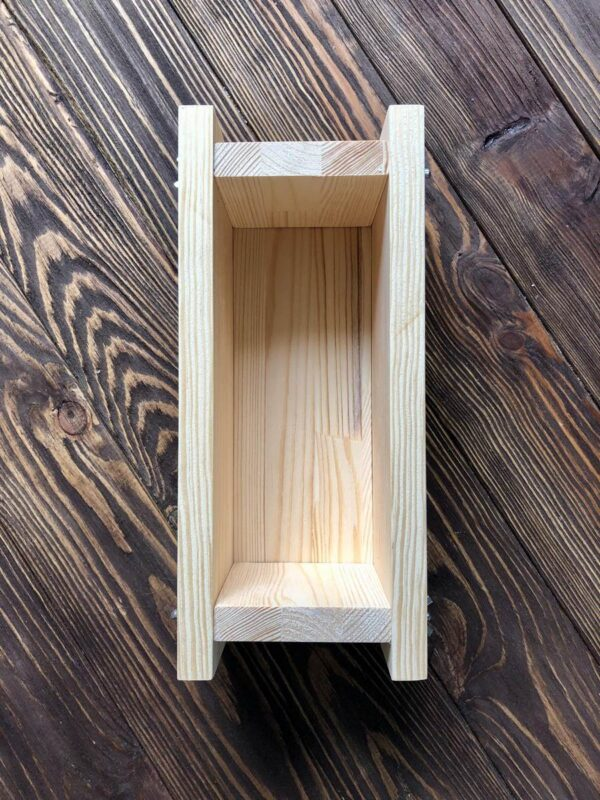 Деревянная форма для мыла с нуля 1 кг масел
