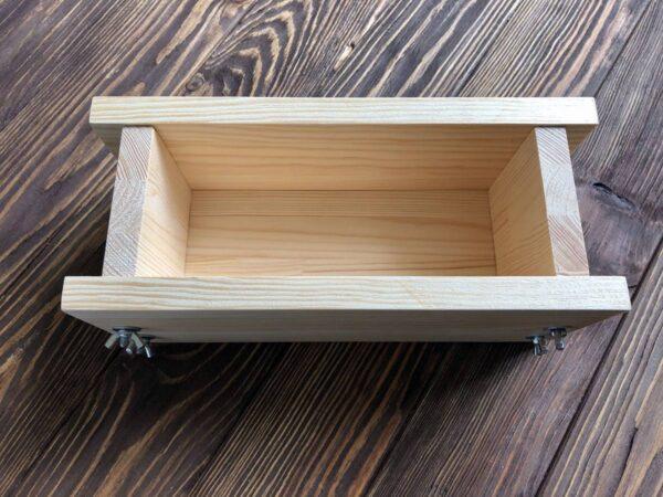 Деревянная форма для изготовления мыла с нуля на 1 кг масел
