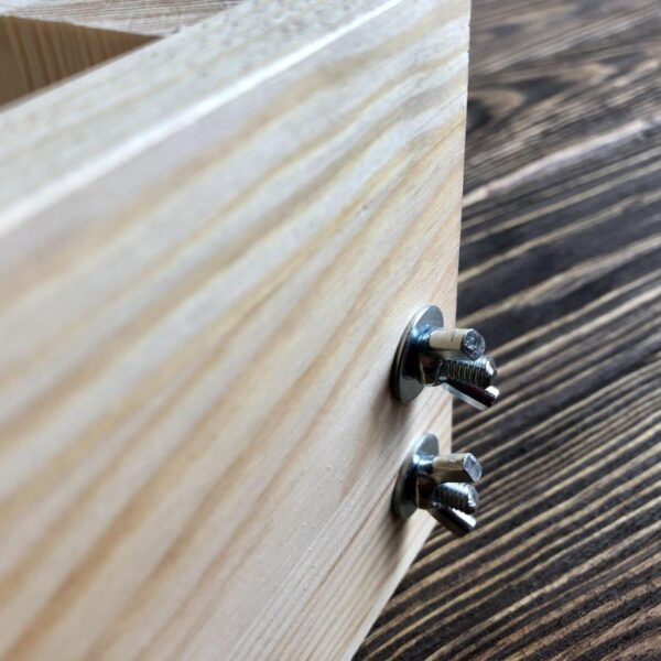 Деревянная форма для изготовления натурального мыла на 1 кг масел