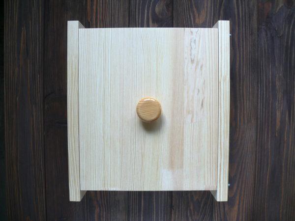 Форма квадратная под нарезку с крышкой для мыла с нуля
