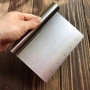 Ровный нож с разметкой для нарезки мыла