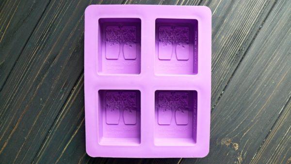 Форма для мыла силиконовая Древо