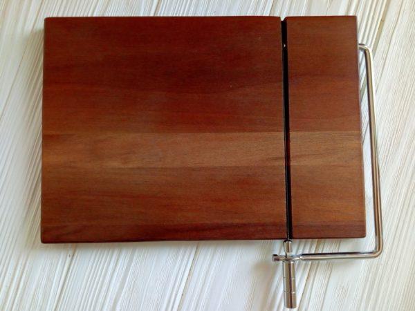 Струнный резак для мыла (деревянный)