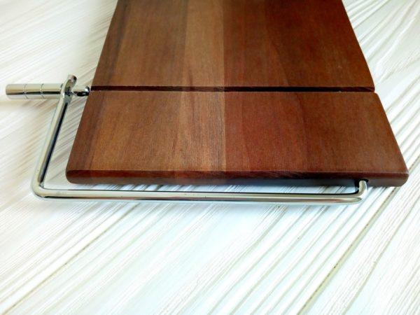 Струнный резак для мыла с нуля (деревянный) на одну струну)