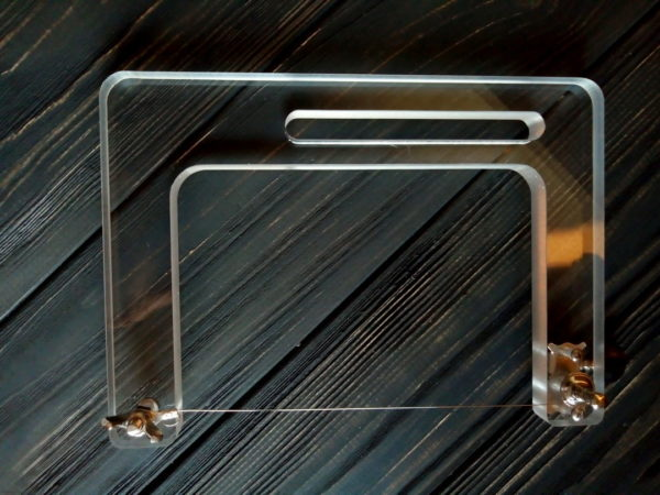 Струнный резак для мыла с нуля акриловый для нарезки брускового мыла