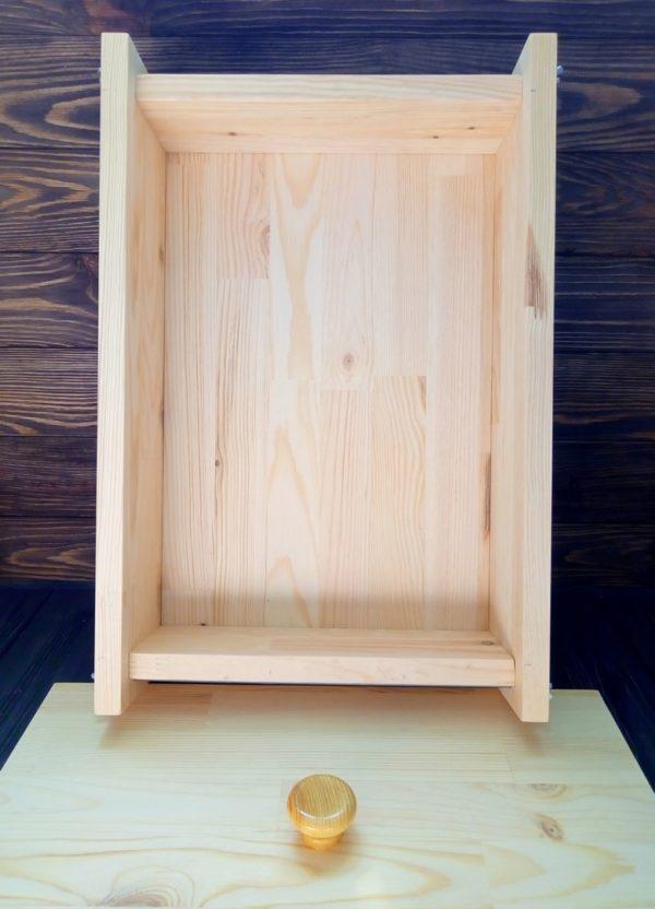 Форма деревянная для мыла по своим размерам