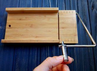 Струнный резак для мыла с нуля из дерева