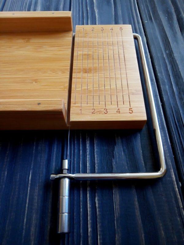 Инструмент для нарезки мыла с нуля деревянный