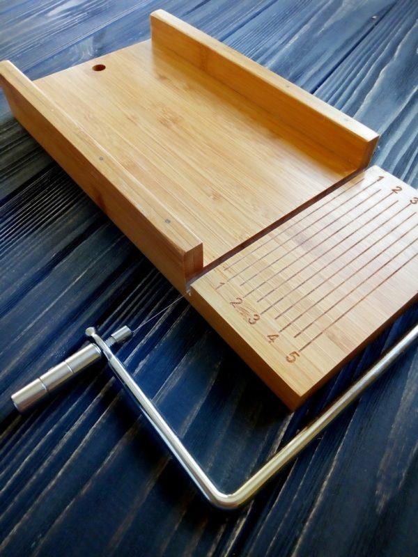 Однострунный резак для мыла с нуля (деревянный)