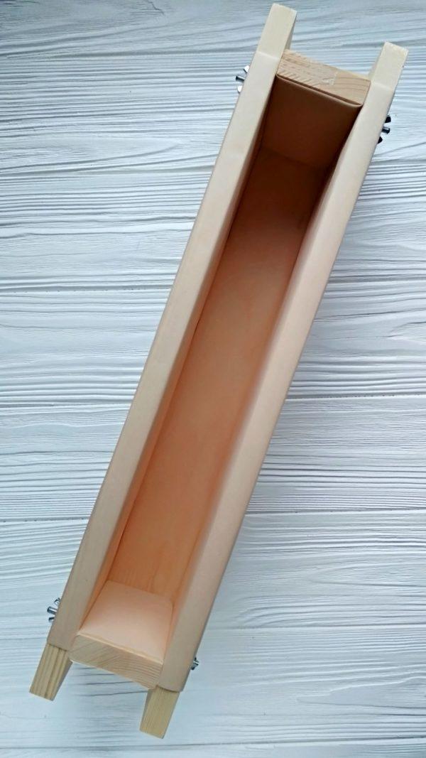 Форма дерев'яна для мила під нарізку США на 1,5 кг олій