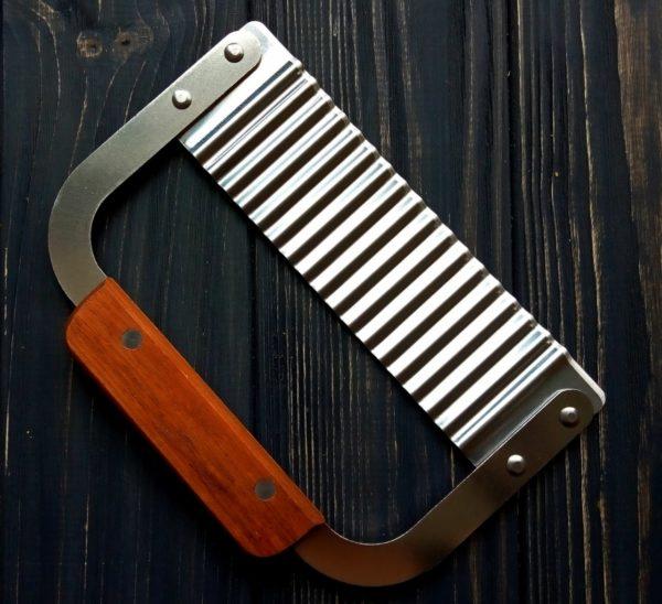 Різак рифлений ніж для нарізки мила з нуля