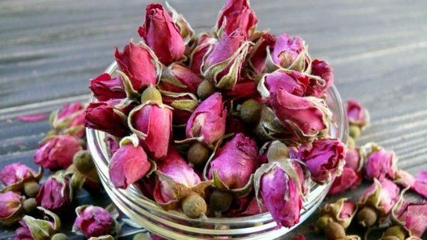 Роза бутоны сухоцвет