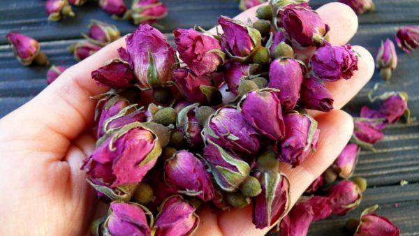 Сухоцветы для мыла бутоны роз