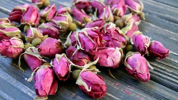 Бутоны розы сухоцвет
