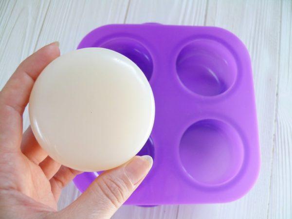 Форма для мыла силиконовая Круглая