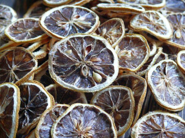Лимон сушеный дольками 50 г