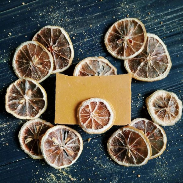 Лимон сушений (кільця) для декору