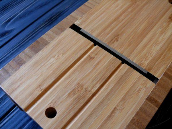 Резак для мыла с нуля бамбуковый (стусло) №3