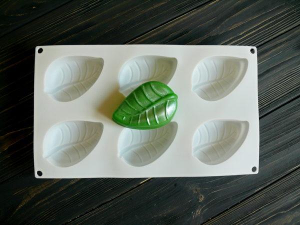 Силиконовая форма-планшет для мыла
