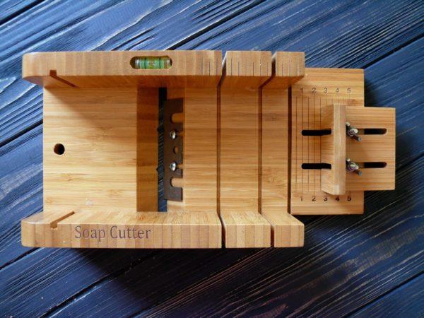 Резак для мыла бамбуковый (стусло) №3
