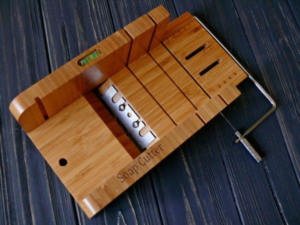 Бамбуковый резак (стусло) для мыла с нуля №3
