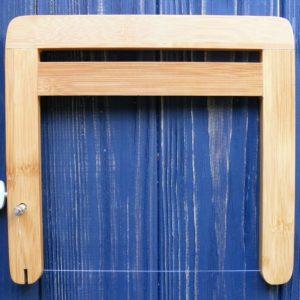 Різак для мила бамбуковий №2