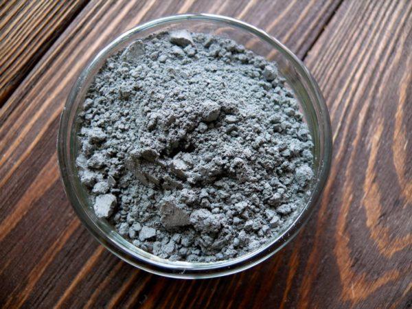 Черная глина косметическая