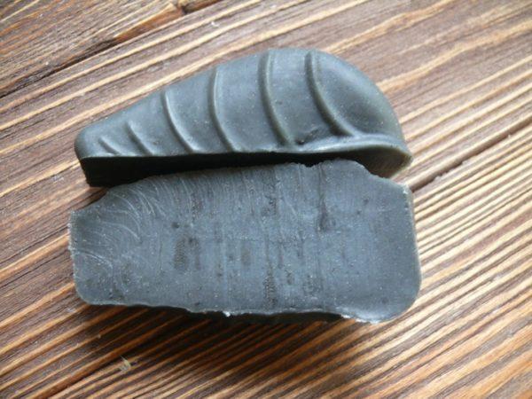 Черная глина косметическая в мыле с нуля