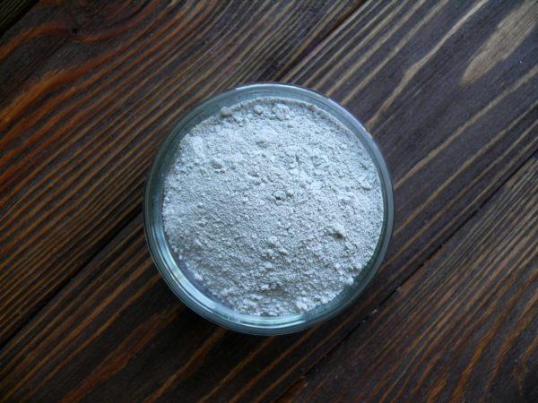 Голубая глина косметическая