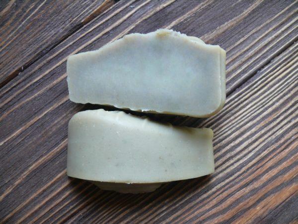 Зеленая глина косметическая в мыле с нуля