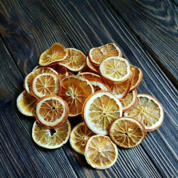 Сушений апельсин (кільця)
