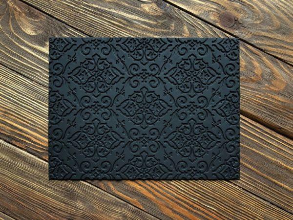 Силіконовий текстурний килимок для мила Візерунки