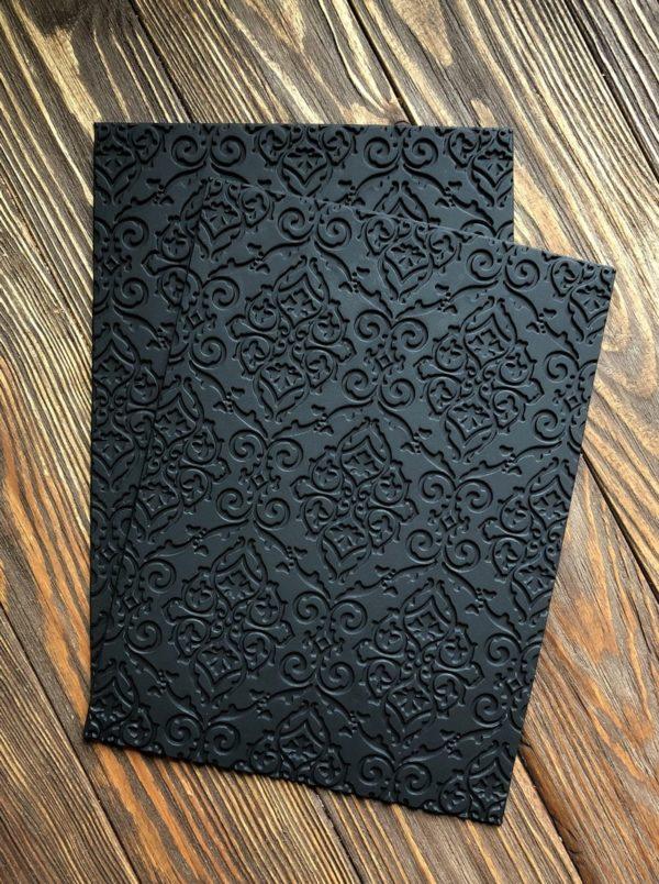 Силіконовий текстурний килимок для мила з нуля Візерунки
