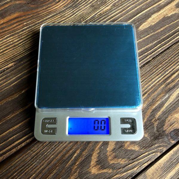 Электронные ювелирные весы 3 кг (0.1г) + 2 чаши