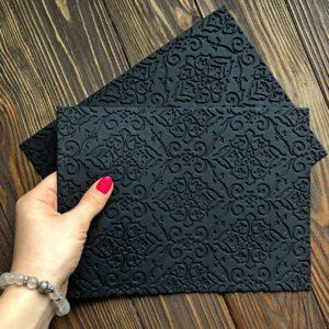 Силіконовий текстурний килимок Візерунки