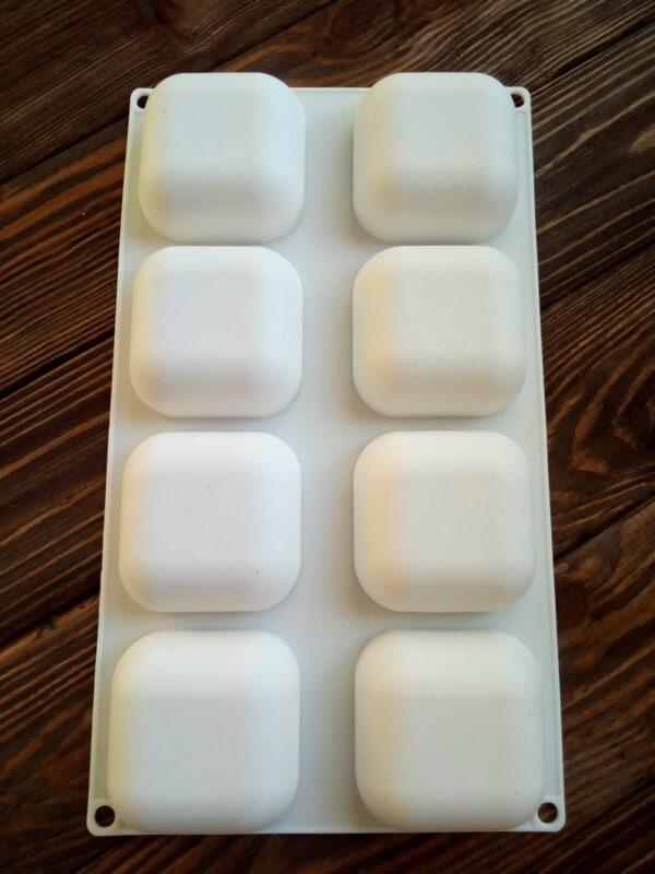 Форма для мыла камни квадратные