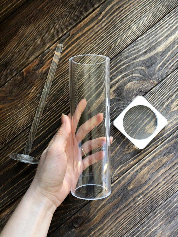 Форма для мыла Цилиндр 5 см