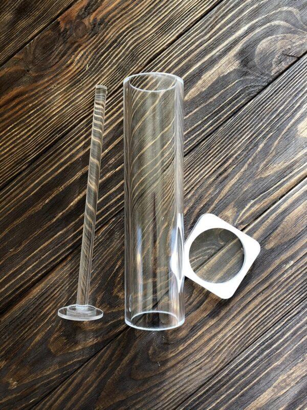 Акрилова форма для мила Туба 4 см