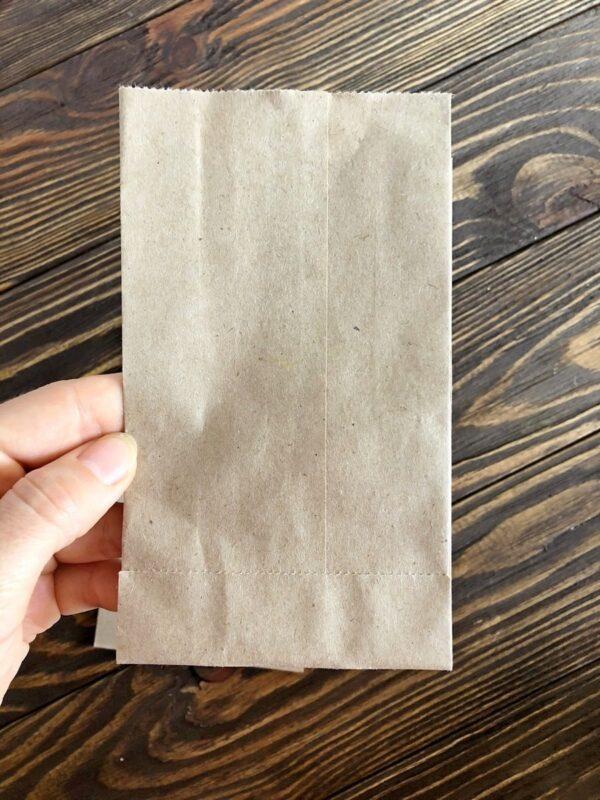Бумажный пакет-саше 150*90*40 мм (100 шт.) для упаковки