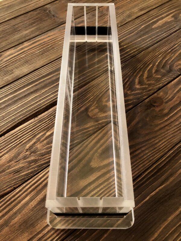 Форма для мыловарения из акрила 30*6*7 см