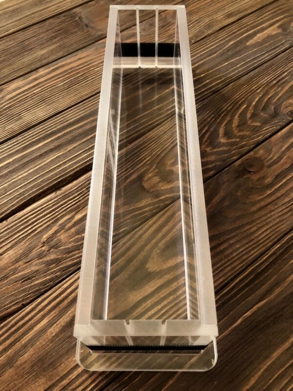 Форма для миловаріння з акрилу 30*6*7 см