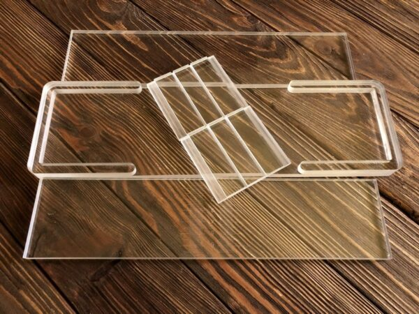 Форма для мила прозора розбірна