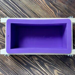 Форма для мыла с нуля 1100 г широкая