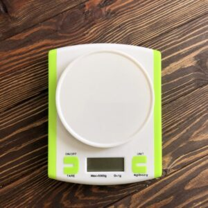 Электронные кухонные весы 5 кг (0.1г) + чаша