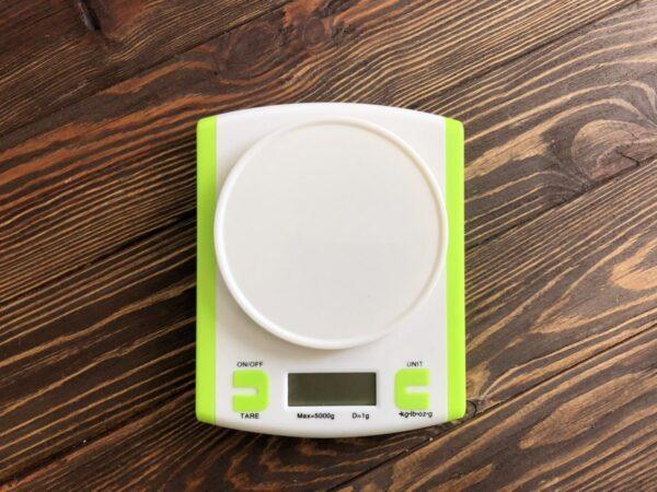Електронні кухонні ваги 5 кг (0.1г) + чаша