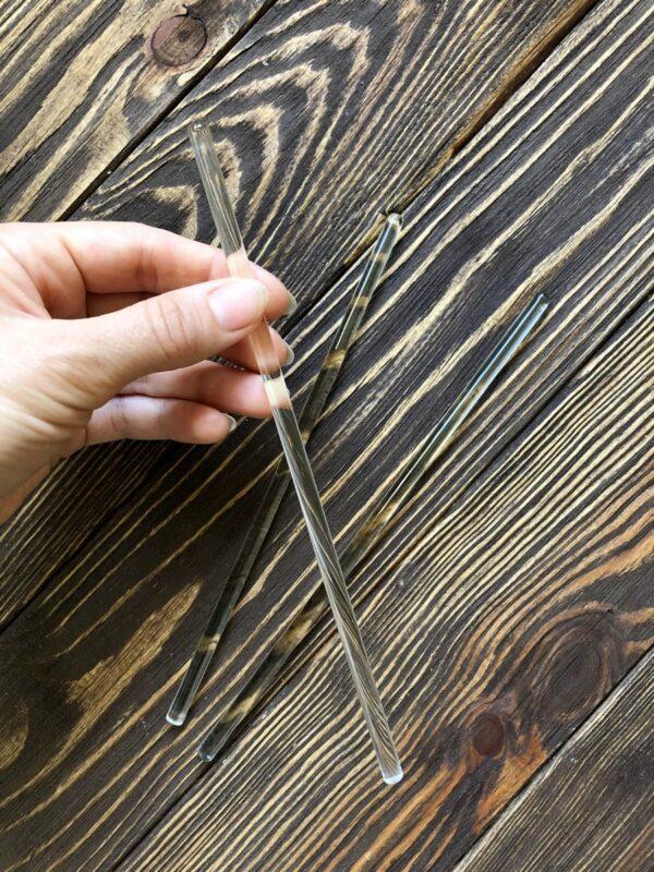 Паличка скляна 20 см для розмішування