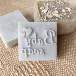 """Штамп для мыла """"Baby soap"""""""